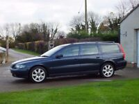 2004 VOLVO V70 2.4 PETROL ESTATE MANUAL BLUE VERY CLEAN! 1 PREVIOUS OWNER!