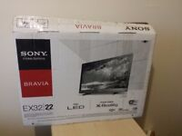 """Excellent 22"""" SONY LED SMART TV full hd ready 1080p freeview inbuilt"""