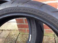 Pirelli Diablo Corsa Motorcycle tries (part worn pair)