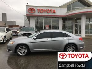 2013 Chrysler 200 LIMITED--HEATED LEATHER--MOON ROOF
