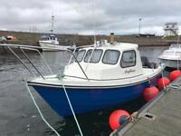 Orkney Day Angler 21 Boat.