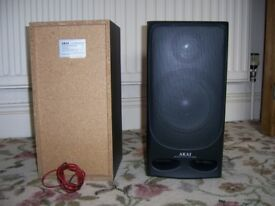 Akai loudspeakers pair