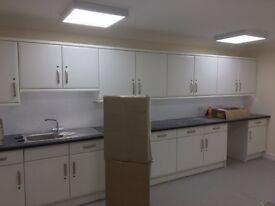 Kitchen fitting, tiling,