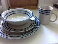 16 piece dinner set in perfect condition.