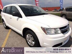 2011 Dodge Journey CAN VAL PKG ***CERTIFIED ONE OWNER*** $6,999