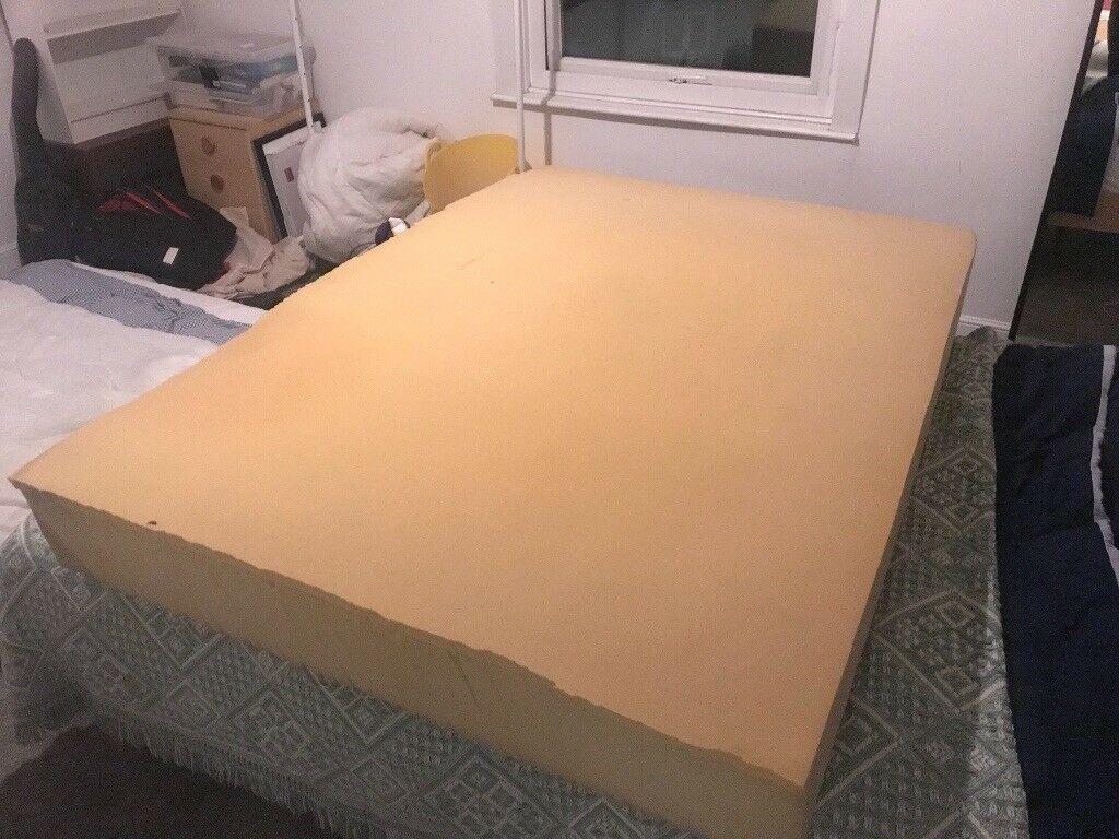 Foam double mattress - perfect for camper bed