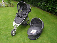 QUINNY SPEEDI TRAVEL SYSTEM - 3 IN 1 EXCELLENT USED CONDITION