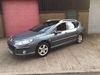 Peugeot 407 1.6 HDi quick Sale £500 ono estate clean car starts and drives well