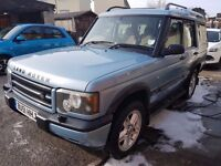 Land Rover Discovery TD5 12 months MOT