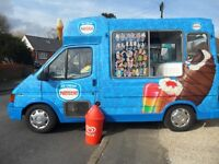 Ice Cream Van Driver Required