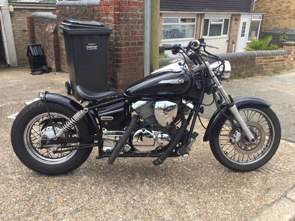 yamaha dragstar 125 custom bobber in st leonards on sea. Black Bedroom Furniture Sets. Home Design Ideas