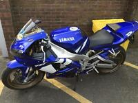 Yamaha R1 2002 26000miles swap for 600