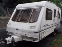 Sterling Belvoir Five Berth Touring Caravan