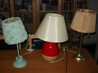 cheap lamps(lots more in my other ads).