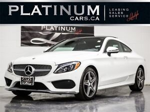 2017 Mercedes-Benz C-Class C300 4MATIC COUPE, A