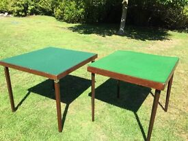 Folding wooden card table. Very good condition.