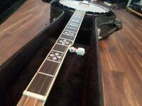 Pilgrim Banjo with Resonator - HIGH Quality - Barely played
