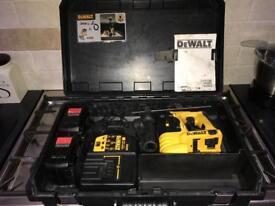 Dewalt DC223 24v Heavy Duty SDS plus cordless hammer kit