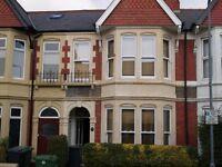 Spacious, well appointed 4 bedroom house, Heath / Gabalfa
