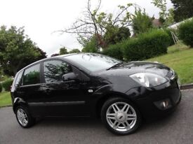 FORD FIESTA 1.4 GHIA 5DR HATCHBACK WITH LEATHER