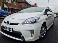 TOYOTA PRIUS T-SPIRIT 2014 64 PLATE UK CAR FULL TOYOTA HISTORY HPI CLEAR NOT AURIS MERCEDES BMW VW