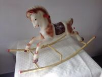 'Triang' vintage rocking horse