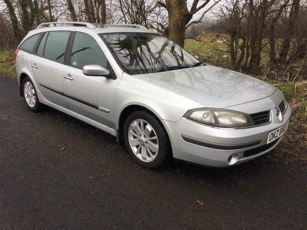 RENAULT LAGUNA # DYNAMIQUE ESTATE # LEATHER INTERIOR # FULL GLASS PANORAMIC  SUNROOF # M.O.T OCTOBER