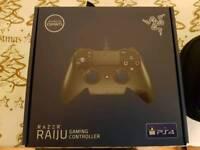 Razer raiju like new 2 months old ps4 controller