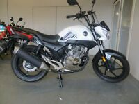 EVOLUTION MOTOR WORKS - Lurgan. - Lexmoto 125cc Kiden Aquarius - £1750. Finance subject to status