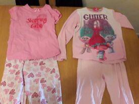 Girls bundle 7-8 pyjamas