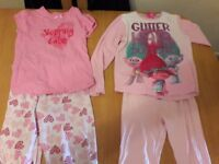 Girls bundle 7-8 pyjamas