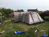 Outwell Glendale 5 man (2 pod) tent and side porch