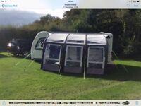 Kampa Rally Pro Air 390 caravan awning