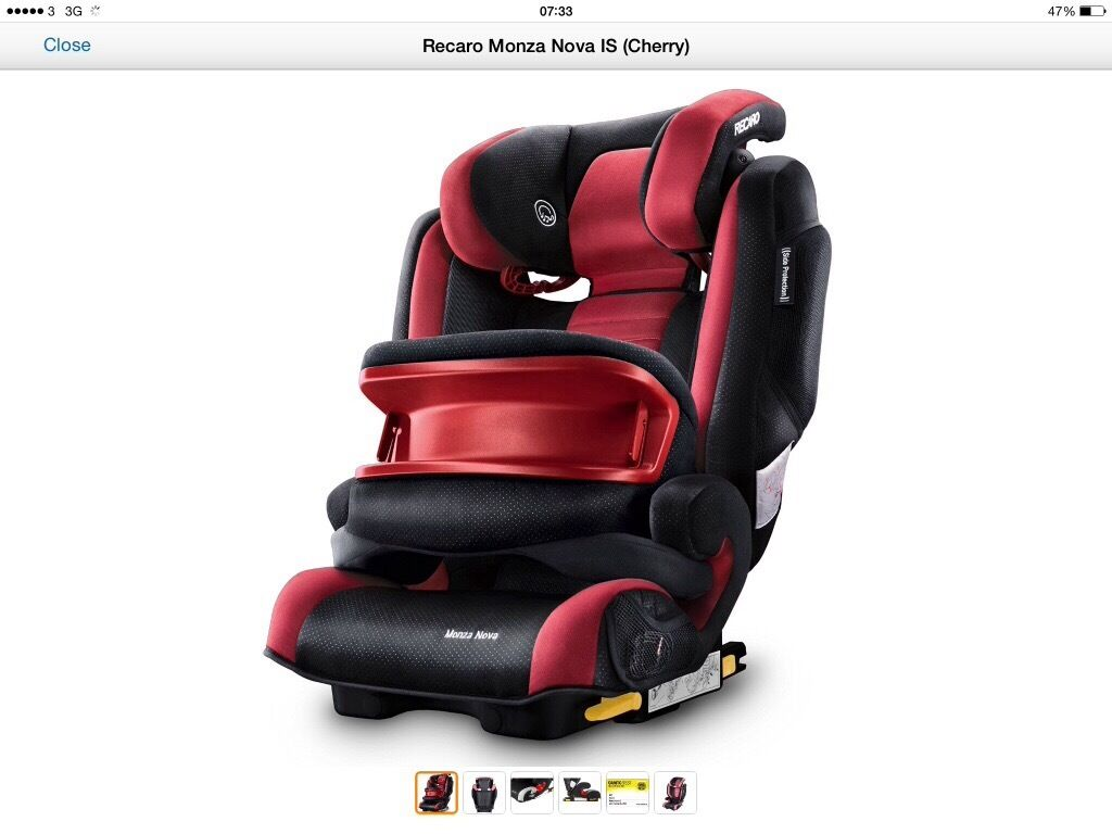 RECARO car seat with speakers and impact shield | in Slough ...