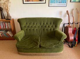 Original mid-century sofa