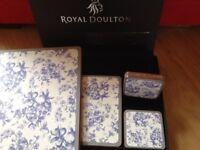 Royal Doulton placemat set