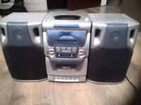 PROLINE cd 6603 micro cd-radio-cassette system