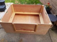 Whelping box, large. Suitable for labour, puppies and dog. Not used.