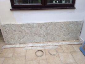 Kitchen Worktop - Soft Mazzarino Quarry by Bushboard options range
