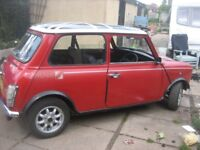 CLASSIC MINI FLAME RED CHECKMATE 1990