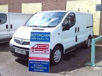 VAUXHALL VIVARO SWB 57 PLATE LOW MILEAGE NO VAT From Bulwell