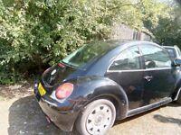 Black beetle for sale , good condition.12 months MOT