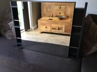 Mirrored Bathroom Cabinet in Anthracite Grey