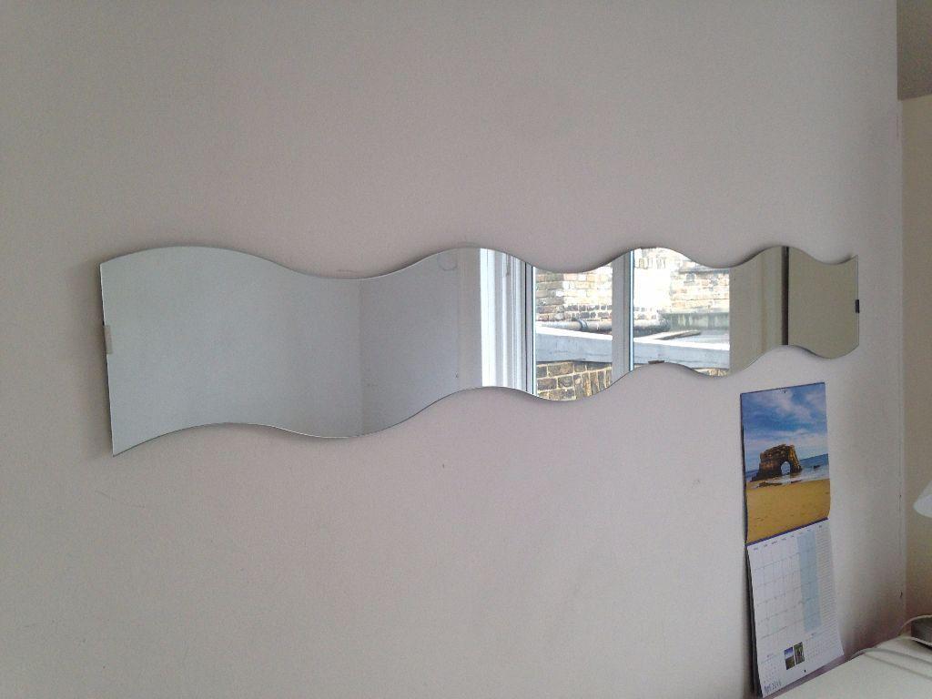 2 Ikea Krabb Wavy Mirrors Nw1 6dx