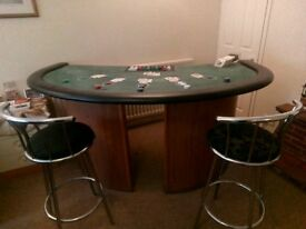 Blackjack Table - Full size, superb condition