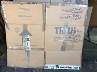 Removal cardboard boxes