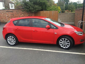 Vauxhall ASTRA | Low mileage | Reduced for a quick sale!