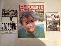 Brian Clough Joblot. Collection of items about Cloughie