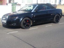 Audi A4 Cabriolet - Auto - 3.0 Diesel - Quattro - Leathers