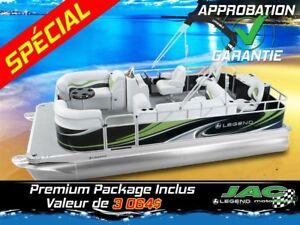 2016 Legend Boats Ponton Splash Plus Flex Mercury 15 EL Bateau p